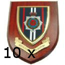 10 x Military Wall Plaque any 10 wall plaques of your choice