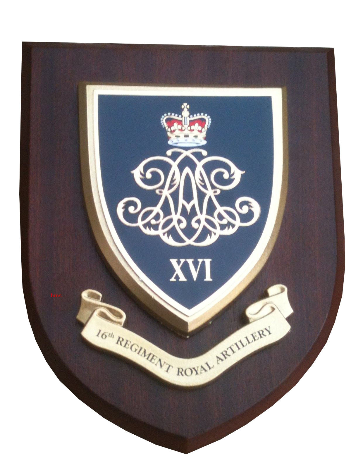 16th Regiment Of Artillery Military Wall Plaque