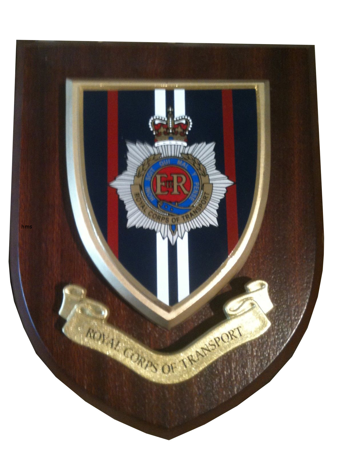 Rct Royal Corps Of Transport Regimental Wall Plaque