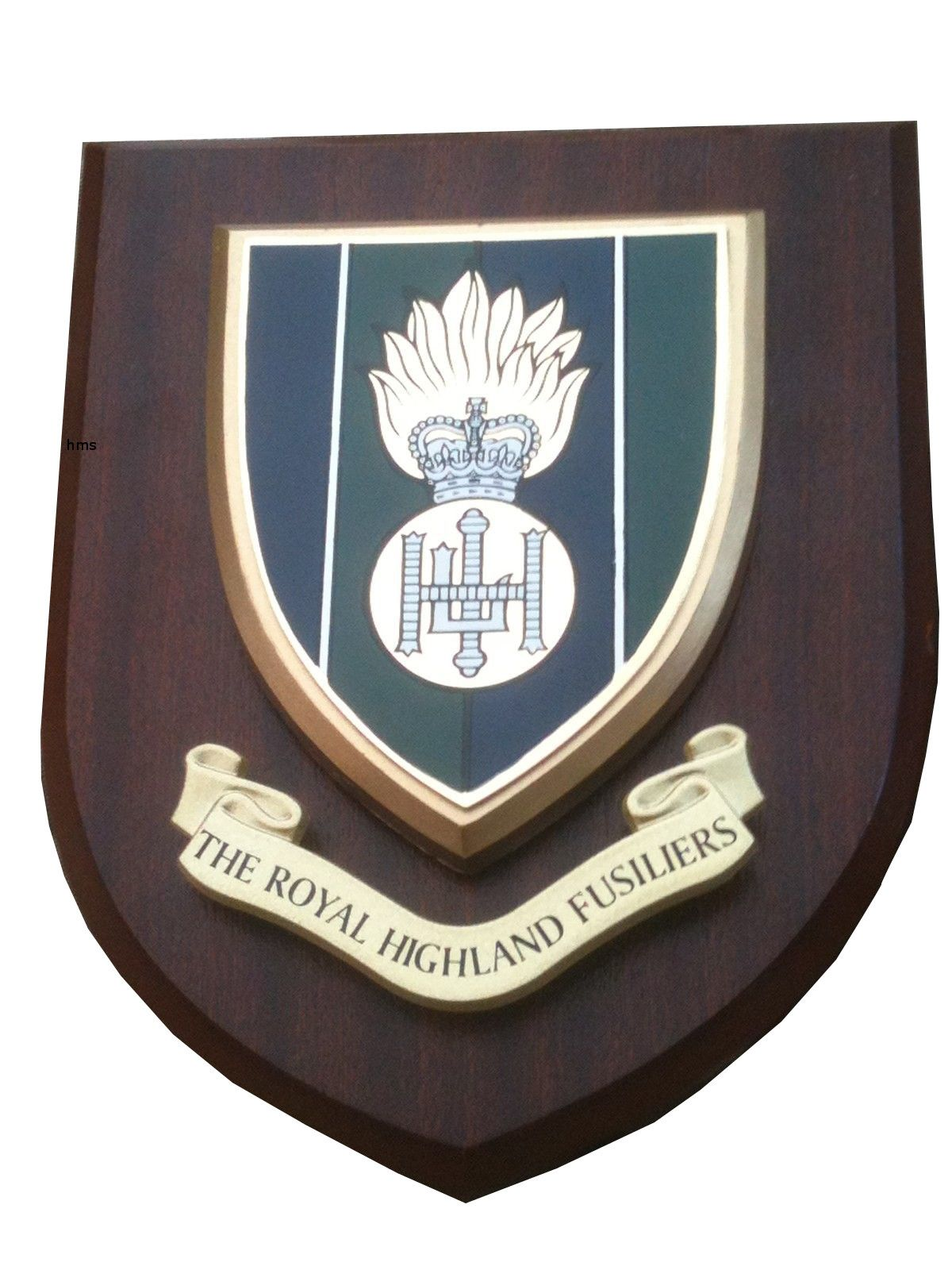 Royal Highland Fusiliers Regimental Military Wall Plaque