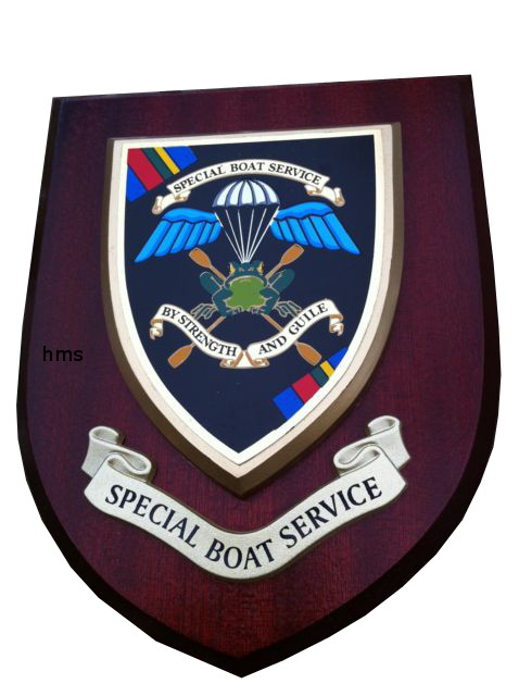 Special Boat Service Sbs Old Style Regimental Wall Plaque