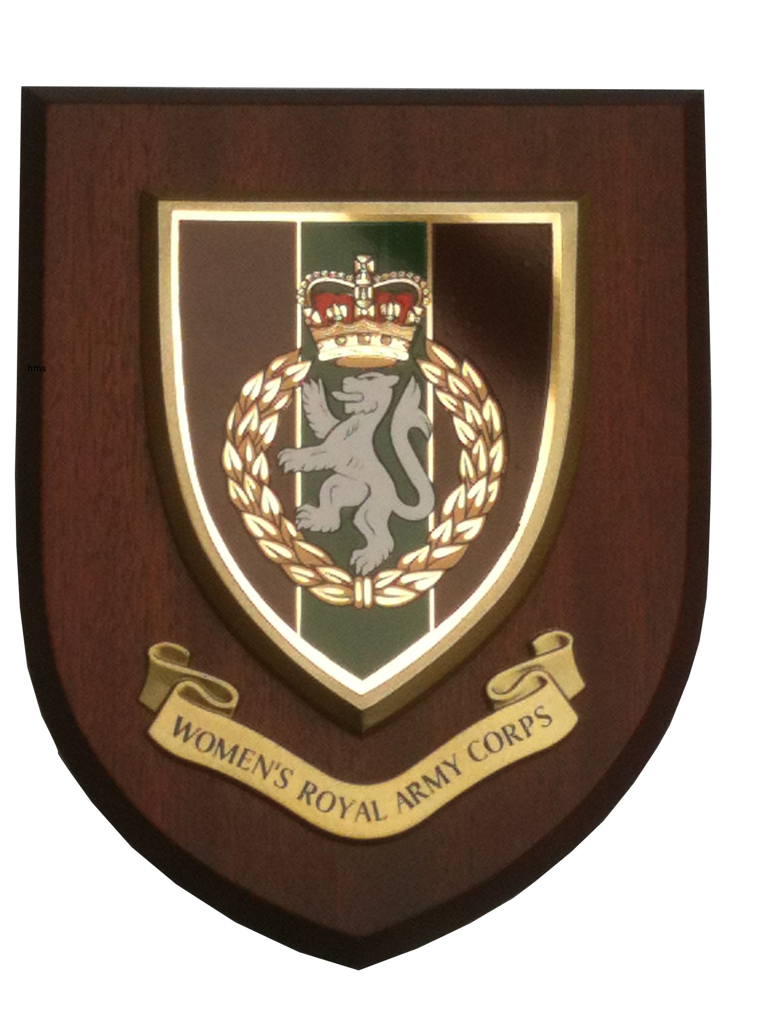 Women S Royal Army Corps Wrac Military Regimental Wall Plaque