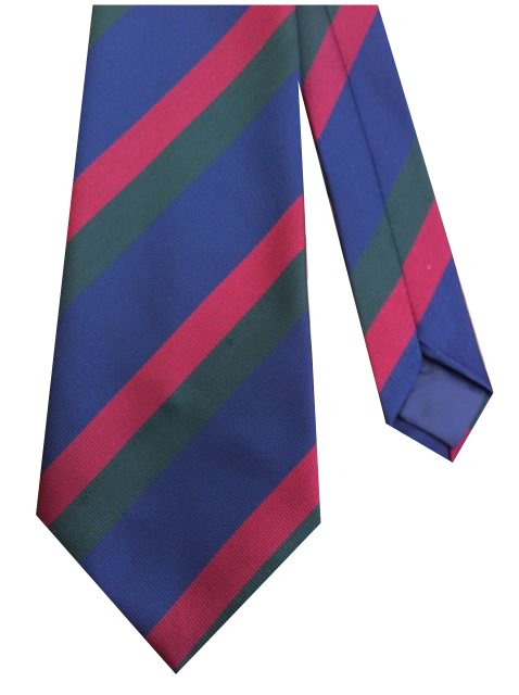 Black Watch Regiment Stripe Military Tie