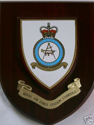 Raf Royal Air Force Station Uxbridge Regimental Military