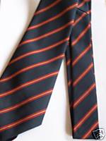 RAOC Royal Army Ordnance Corps Regimental Stripe Military Tie (old style)